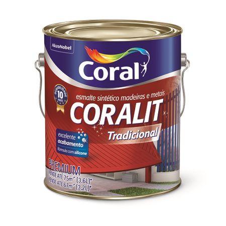 Coral Coralit Brilho 3,6 litros Alumínio