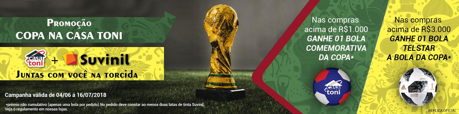 Banner Promocional - Copa do Mundo