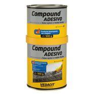 Adesivo Estrutural Vedacit Compound A+B 1kg