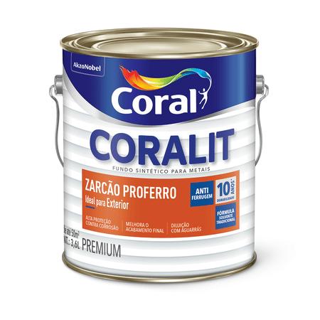 Coralit Zarcão Proferro Zarcoral 3,6 litros - Casa Toni